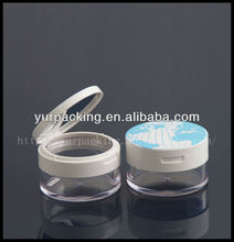 plastic transparent loose powder case HF8044