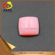 Fantastic square cushion shaped cabachon rough natural rose opal stone