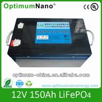 super quality 12V 150Ah solar energy storage lithium battery pack, battery for solar system