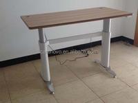 2013 new model office furniture adjustable height desk electric