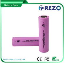 CE UL MSDS 18650 rechargeable Battery 3.7V 2200mAh Li-ion Camera Flashlight Torch Battery