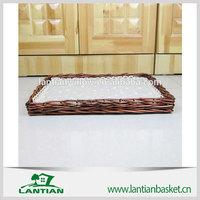 wicker fruit/break basket/plate
