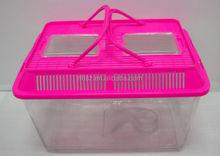 Transparent Small plastic fish tank goldfish bowl turtle tank pet box