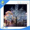 120*80 CM Waterproof lighted ceramic christmas tree for 504 led