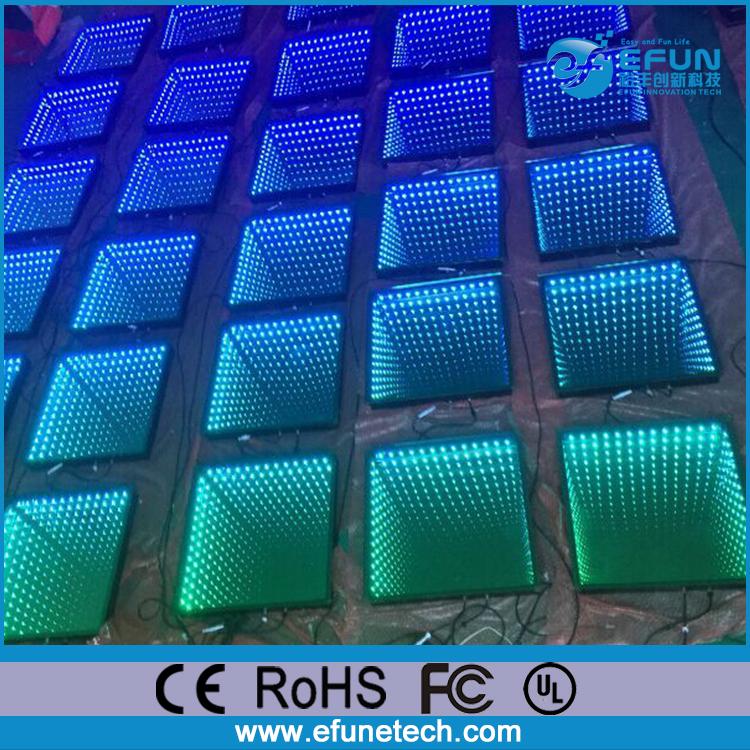 3d Floor Panels : Wifi remote control d led dance panel disco light