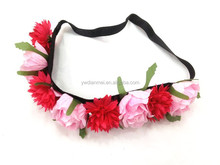 Factory wholesale Fabric flower headband for girls party hair accessories