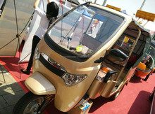 golden colorful gasoline power/electric tricycle TEB-88 different sizes three wheelers