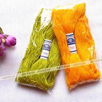 cross stitch thread good material manufacturer 100 meters per bag