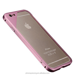 Metal Bumper Arc Edge Frame Border Phone Case For Iphone 6