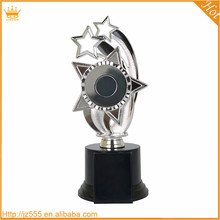 China supply silvery plastic star trophy