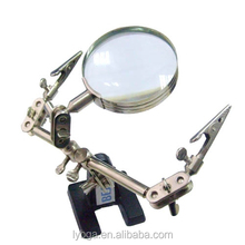 Original BEST-168Z Desktop magnifying glass for inspections with clip for cell phone SMD repair soldering tool