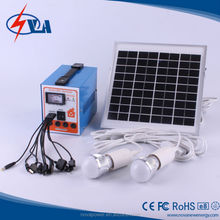 5w portable solar lighting system 20w solar panel