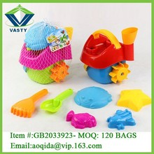 Kids beach sand toy mini sand castle molds toy