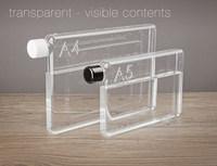 tritan Clear Readily Cup Bpa-free 750ml Memo A5 Paper Bottle Flat Portable Water Bottle
