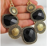 Free Shipping ! Min order $10 ( mix orders ) Trend fashion vintage choker statement necklace women jewelry Factory Price