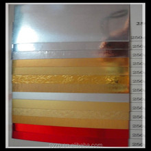 PET metalized Laminated paper/board