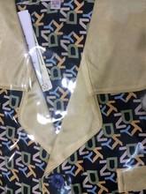 Impreso seda pijamas para los hombres