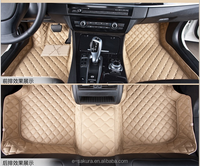 Hot selling 3d leather custom car floor covering mats