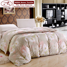 Duvet manufacturers in china wholesale king queen twin size 100% duck down duvet comforter