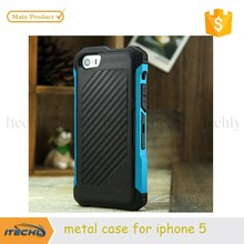 2015 for iPhone5 Metal Frame Shockproof Silicone Cover Magic Mobile Phone Cases Manufacturer