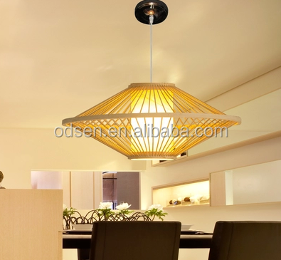 2016 Chinese Country Style Rattan Chandelier