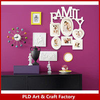 High Quality Resin White Color Family Style Photo Frames made in china