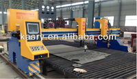 carbon steel metal plate gas cutting machine for sheet metal cut // cnc gas cutter
