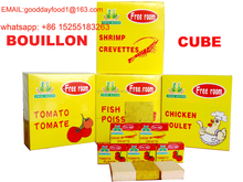 compound seasoning cube de bouillon from chinese factory directly