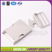 High quality zinc alloy metal car seat belt buckle
