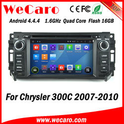 Wecaro WC-JC6235 Android 4.4.4 car gps radio 2 din for chrysler 300c dvd 2007 - 2010 TV tuner