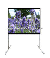 front office equipment fast fold projector screen for projector screen