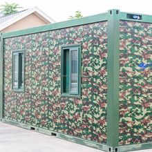enviromental friendly prefabricated antiseismic shipping movable kiosk container house for sale