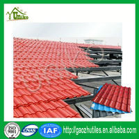Corrugated excellent corrosion resistance decorative synthetic tile
