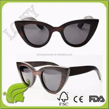 italian brand new wood framed sunglasses GA149