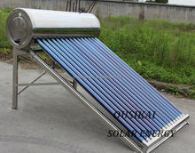 100 / 200 /300 Low Pressure Solar Water Heater With Stainless Steel Frame