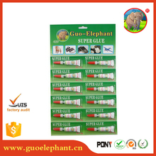 Guo elephant 502 Super Glue/Cyanoacrylate Adhesive/instant glue for metal