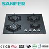 Italian SABAF Burner and copy Burner tempered glass top gas stove valve price