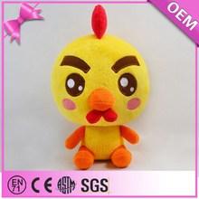 Alta calidad de la felpa Material de peluche de juguete pollos