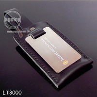 Hot Sell Hotel Leather Luggage Tag