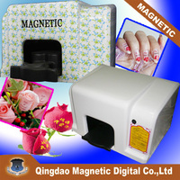 MDK 2014 Promotion cheap digital photo 5 nails intellignet portable nail art printing machine