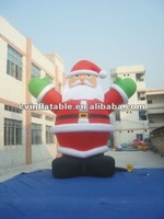 Inflatable christmas santa claus