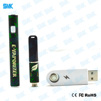 factory wholesale free customize logo rechargeable dry herb shatter dab pen e cig wax vaporizer