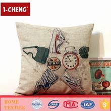 Hot Sale Fashion Fingerprint Printing Designs Cushion Home Decor Cushion With Filling PP Cotton