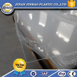 """clear and colored building material 1/2"""" pmma sheet"""