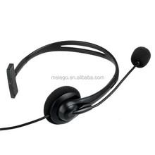 Factory price single earmuff microphone USB gaming headphone