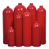 Seamless Aluminum CO2 Gas Cylinder Fire extinguisher Cylinder 5.17L~11.24L