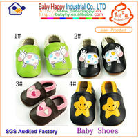 New Stock items italian leather baby shoes manufacturer