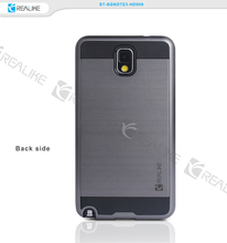 Hard shell plastic pc tpu cover for samsung galaxy note 3,phone case for galaxy note 3 paypal accept