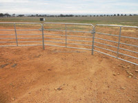 Sheep & Goat Panels Galvanised, 3 meters (L) x 1.02 meters (H), with 7 rails