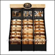 Triple Tower Rack Display Wood Floorings DR-005